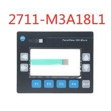 Interrupteur à clavier à Membrane pour Allen Bradley panneau 300 Micro 2711 M3A19L1 2711 M3A18L1 clavier à Membrane (largeur du câble: 8.6mm)