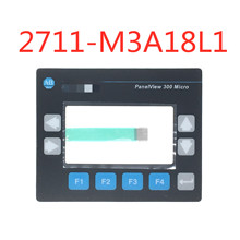 Membrane Keypad Switch for Allen Bradley PanelView 300 Micro 2711 M3A19L1 2711 M3A18L1 Membrane Keyboard (Cable Width: 8.6mm)