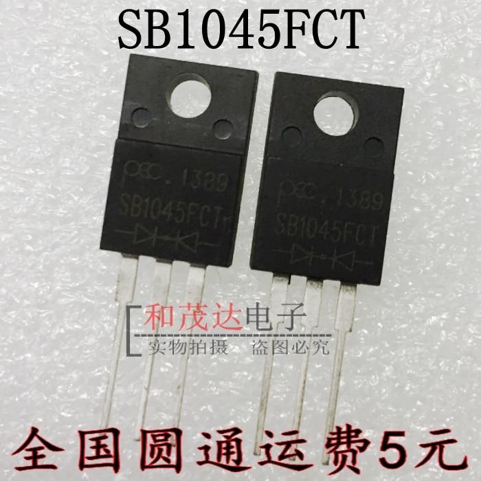 1 шт., новые оригинальные кнопки SB1045FCT 45V 10A в наличии на складе