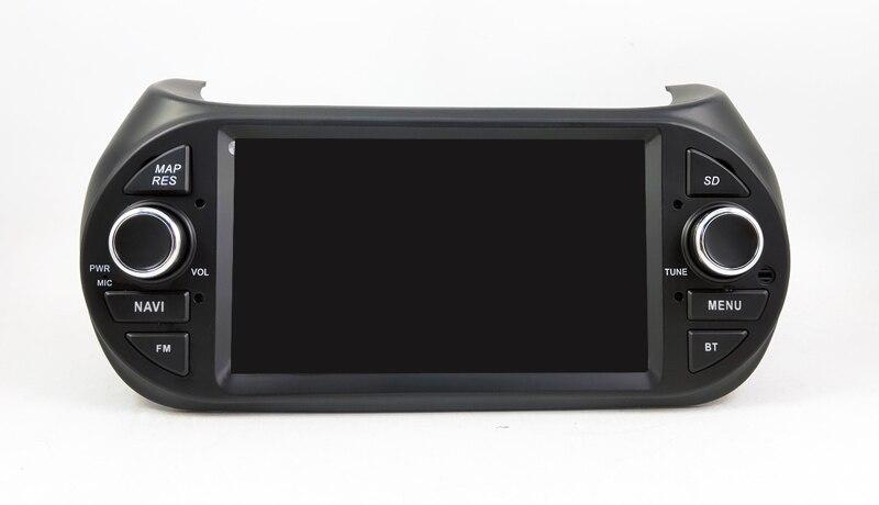 1 Din Car Multimedia Player GPS Android9.0  DVD Automotivo For FIAT Fiorino Qubo Citroen Nemo Peugeot Bipper Radio 4 Core radio tape recorder (1)