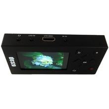 Przenośny wideorejestrator, nagrywaj analogowe wideo VHS, Hi8, magnetowid, DVR, odtwarzacz DVD do formatu digita zapisz bezpośrednio na karcie SD, bez komputera