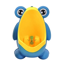Potty Urinals Frog Pee-Training Toddler Boys Cute for with Funny Aiming Target Blue