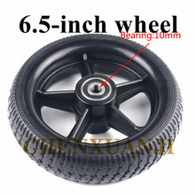 6.5 inch solid wheels 6.5-inch Explosion resistance non-inflatable tyre wheels for electric scooters, Baby carriage