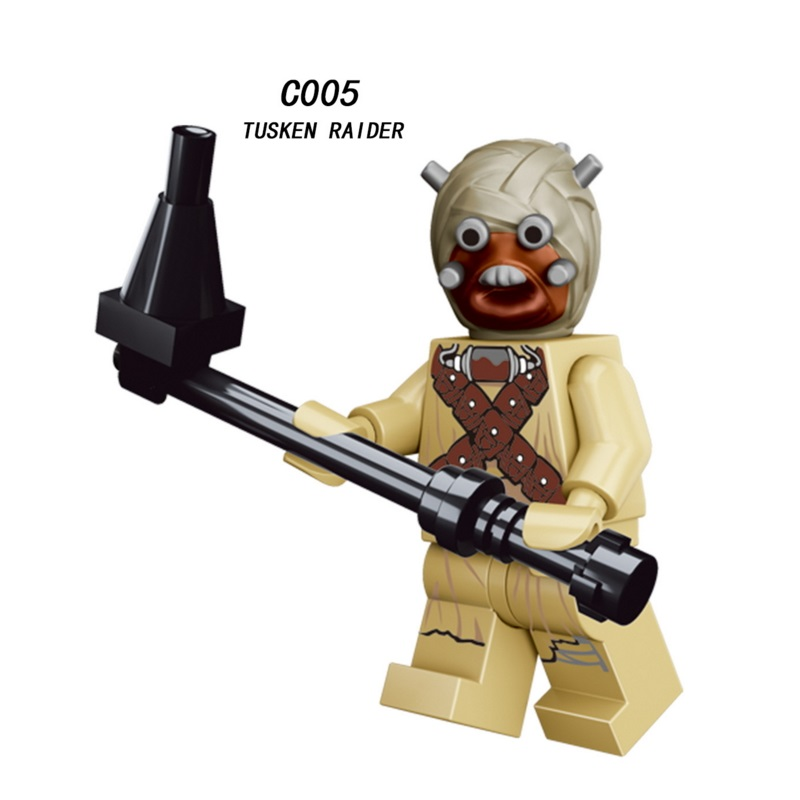 Star Wars Tusken Raider Stormtrooper Imperial Ground Crew Mini Building Block Figure Brick Toy Kids Gift Compatible Legoed