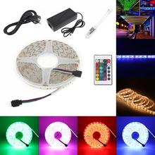 Waterproof SMD 5050 60leds/m 5m RGBW RGB LED Strip Lighting LED Tape Diode Ribbon Wifi Controller DC 12V Adapter LED Strip Set