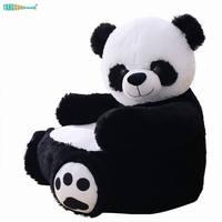 50cm panda bear sofa Children's sofa Teddy Bear Plush Toys Soft Stuffed Animal chair Birthday Xmas Gift for Baby Kids