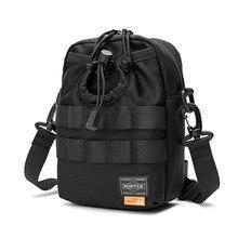Japan Luxury Brand Porter Small Backpack Men Fashion Nylon Bags Phone Bag Multi-functional Casual Unisex Shoulder Crossbody Bag