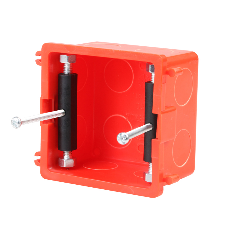 86 Type Socket Wall Mount Switch Box Recovery Bottom Dark Box Repair Secret Stash Struts Repair Devic Wall Mount Junction Box