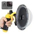 S Порты и разъёмы Камера купол Порты и разъёмы крышки бленда Корпус для подводного погружения и дайвинга для экшн-камеры GoPro Hero 7/6/5 + Водонепр...