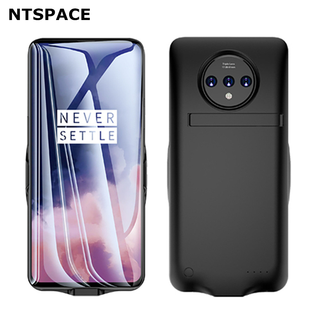 NTSPACE 6800mAh Battery Charger Cases For Oneplus 7T Pro Power Bank Case Charging Case For Oneplus 7 Pro Battery Power Case Capa