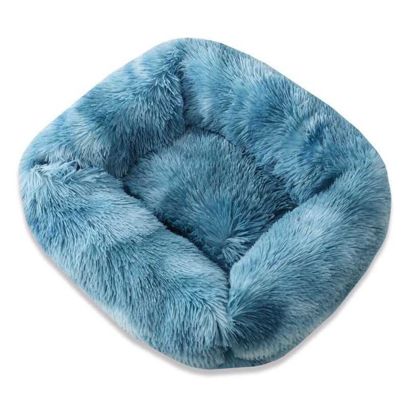 Super Soft Dog Bed House Dog Mat Plush Cat Mat Cats Nest For Large Dogs Bed Labradors House Round Cushion Pet Product Supplies 7