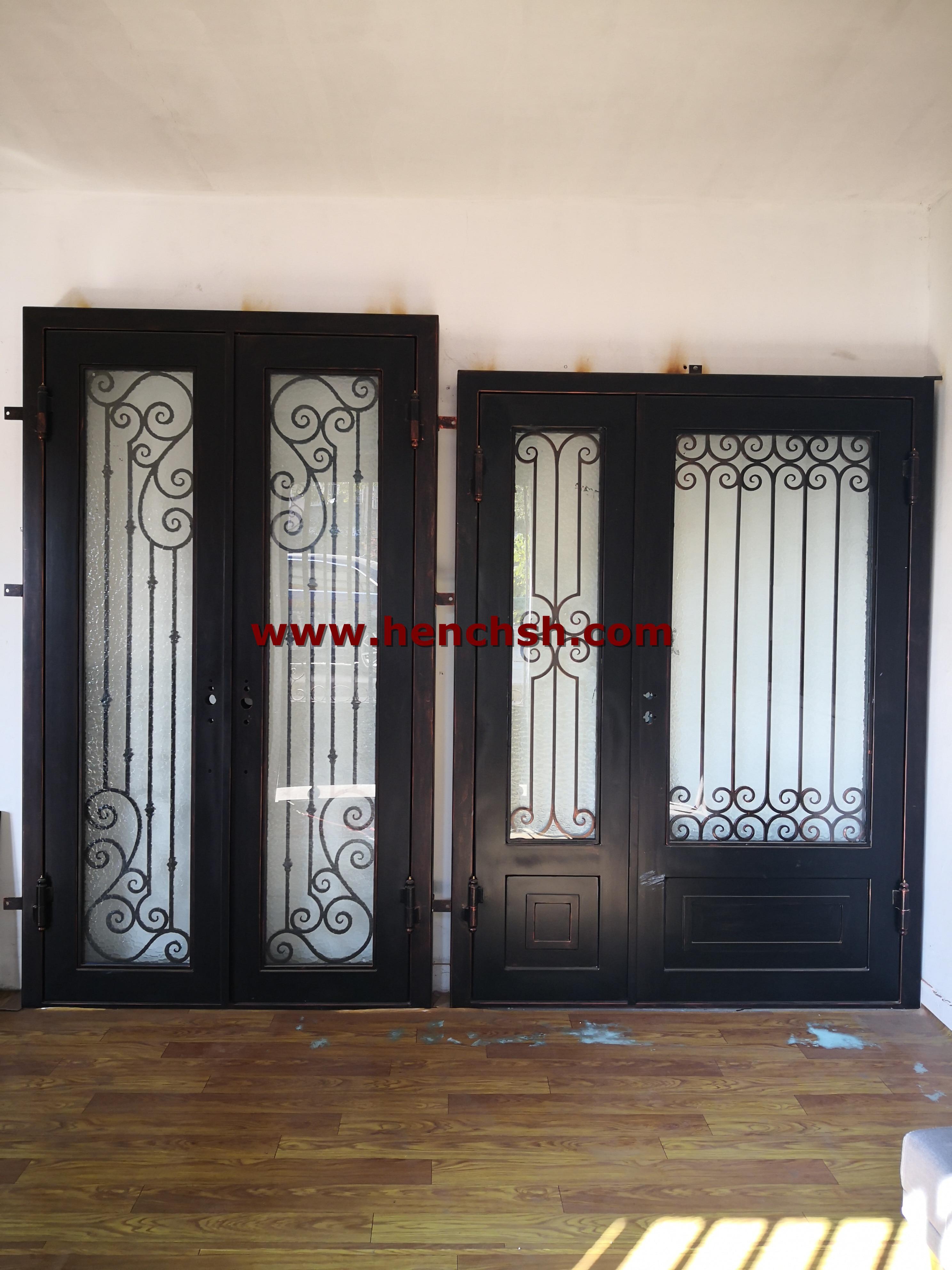 Hench Steel Entry Door With Glass Open