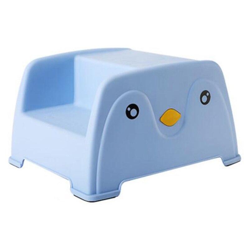 New Children's Cartoon Small Bench Kindergarten Stool Baby Non-Slip Step Stool Stool Wash Stool Chair
