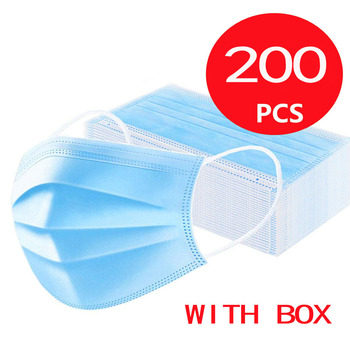 NEW Medical Disposable Mask 3 Layers Dust Fog Proof Mouth Mask Ear Loop Disposable Surgical Protect Health Mask