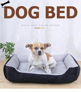 Bone Pet Bed Warm Pet Products For Small Medium Large Dog Soft Pet Bed For Dogs Washable House For Cat Puppy Cotton Kennel Mat 5