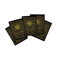 5 шт. анти-Радиационная наклейка щит для телефона и Ipad энергия здоровья уменьшить радиацию наклейка 2000 отрицательных ионов