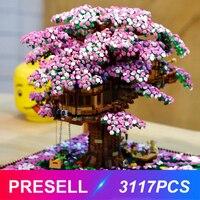 New Tree House 3117pcs Compatible Idea Series 21318 Building Blocks Bricks Educational Toys Birthdays Christmas Gifts