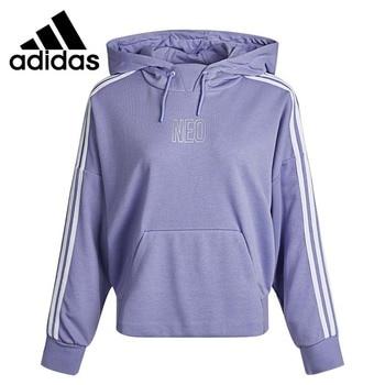 Original New Arrival Adidas W FAV FEB SHD Women's Pullover Hoodies Sportswear 1
