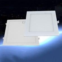Светодиодный Панель потолочный светильник вниз светильник Ультра тонкое освещение украшения 9W 500LM