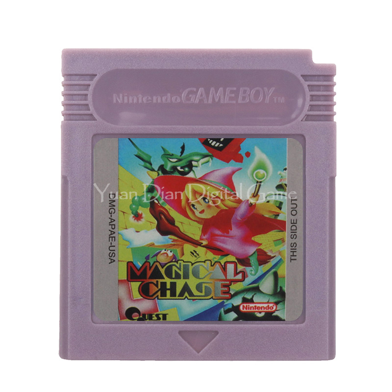 For Nintendo GBC Video Game Cartridge Console Card Magical Chase English Language Version