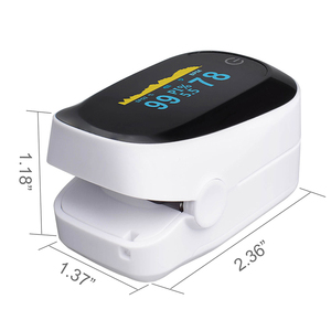 Image 5 - Medical original Fingertip Pulse Oximeter De Dedo Pulso Blood Oxygen Saturation Monitor Finger Pulse Oxygen Heart Rate Meter