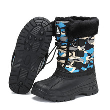 Kids Snow Boots Girls Winter Shoes Boys Boots