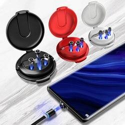 3 In1 magnetyczny kabel usb szybkie ładowanie typu C ładowarka kablowa ładowanie danych MicroUSB kabel do telefonu komórkowego dla Xiaomi Huawei iPhone w Kable do telefonów komórkowych od Telefony komórkowe i telekomunikacja na
