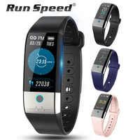 Laufen Geschwindigkeit X1 Smart Uhr EKG + PPG HRV Blutdruck Herz Rate Monitor Aktivität Tracker Männer IP67 Wasserdichte Sport smartwatch