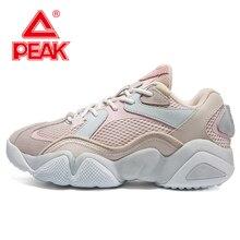 PEAK TAICHI 6371 Women Running Shoes Fashion Retro Casual Comfortable Durable Cushion Sneakers Couple