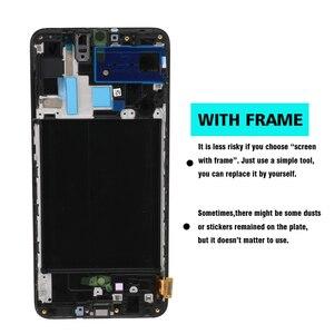 Image 3 - 100% SUPER AMOLED 6,7 pantalla LCD para Samsung Galaxy A70 A705 A705F SM A705MN montaje digitalizador de pantalla táctil + servicio paquete