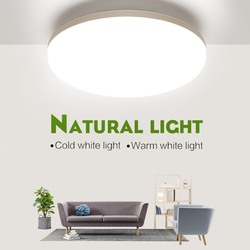 LED ceiling lights for room 18W 24W 36W 48W Cold Warm White Natural light LED fixtures ceiling lamps for living room lighting