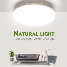 Lampy sufitowe LED do pokoju 18W 24W 36W 48W zimny ciepły biały naturalny jasno LED lampy sufitowe do oświetlenie do salonu tanie tanio MARPOU ROHS CN (pochodzenie) 20 Metrów 10-15square KİTCHEN Jadalnia Łóżko pokój Foyer Badania Łazienka 90-260 v