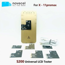 Novecel S200 LCD TesterสำหรับiPhone X XS XR 11 11pro MAX 6 6S 7 8หน้าจอLCD 3D Touchพื้นผิวทดสอบซ่อมโทรศัพท์มือถือเครื่องมือ