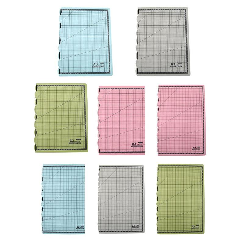 A2 A3 PVC Sewing Cutting Paper Mat Professional Non-reflective Durable Self-healing Foldable Patchwork DIY Accessory