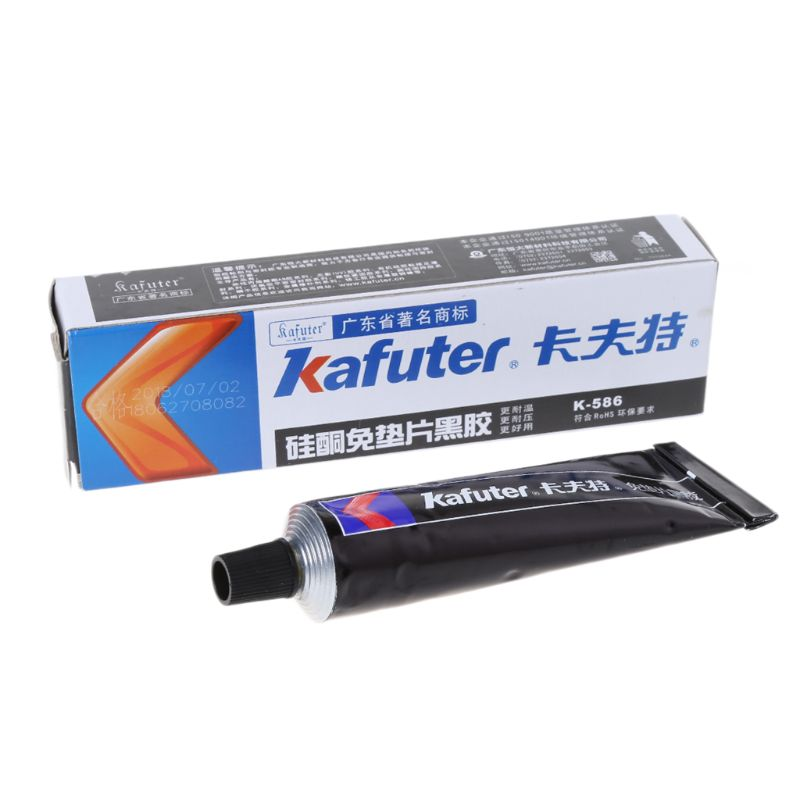 Высокое качество Kafuter K-586 черный силиконовый Бесплатная-прокладка Водонепроницаемый к маслу не поддающаяся воздействию высоких Температур...