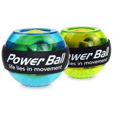 LED Wrist Ball Muscle Power Ball Gym Trainer Relax Gyroscope Arm Exerciser Gyro Fitness Ball Hand Strengthener Force Equipments