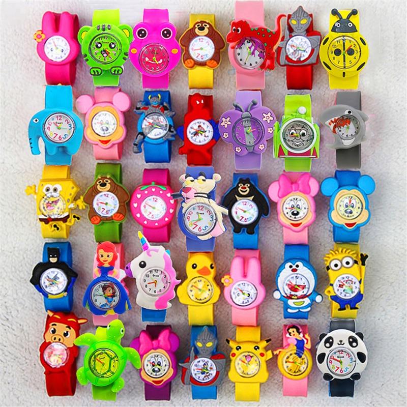 Детские наручные часы для мальчиков и девочек, цифровые часы с мультяшными рисунками животных, подарок на день рождения, 23 шт.