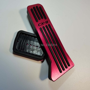 Image 5 - For Mazda CX 9 CX9 CX9 2017 2018 2019 2020 Car Gas Pedal Brake Pedal Foot Pedal Accelerator Cover Interior Supplies Accessories