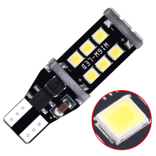 T15 LED Canbus Bulbs Decode W16W 2835 15SMD Super bright canbus for car turn signal reversing brake light 1ps
