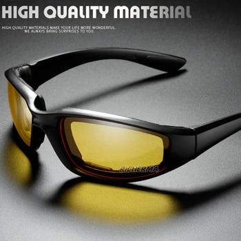 Fashionable Motorcycle Glasses Racing Anti-glare Windproof Vintage Men Women Safety Goggles Eyeglasses Sunglasses Eye Protection 2
