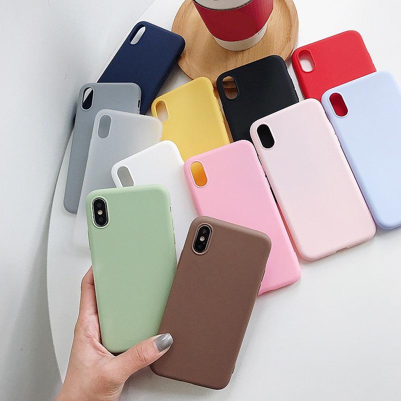 Para Xiaomi Redmi Nota 7 8T 8 Pro 6 5 4 4X 5A 6A caso cubierta suave de silicona para rojo mi Note8 8A Nota 5 7A 9A 9C 9T 9S 9 Pro