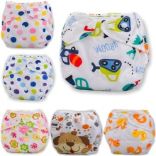 1pcs Baby Diapers Reusable Waterproof Nappies Diaper Washable Infants Children Cotton Training Pants Panties Nappy Changing
