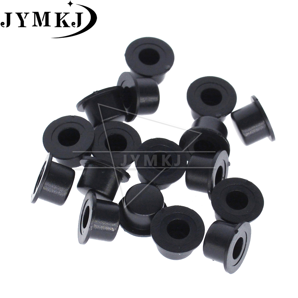 50pcs Black Round Switch Cap Hole diameter 3.2mm For Tact Switches