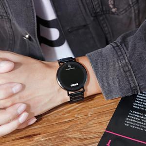 Image 5 - SKMEI นาฬิกาผู้ชายดิจิตอลนาฬิกา Luxury หน้าจอสัมผัสจอแสดงผล LED นาฬิกาข้อมืออิเล็กทรอนิกส์สแตนเลสผู้ชายนาฬิกาผู้ชาย
