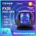 TEYES TPRO Штатная магнитола For Инфинити ФХ35 1 For Infiniti FX35 1 2002 - 2006 For Tesla style screen For Тесла Стиль Экран Android DSP 2DIN автомагнитола 2 DIN GPS мультимедиа автомо...