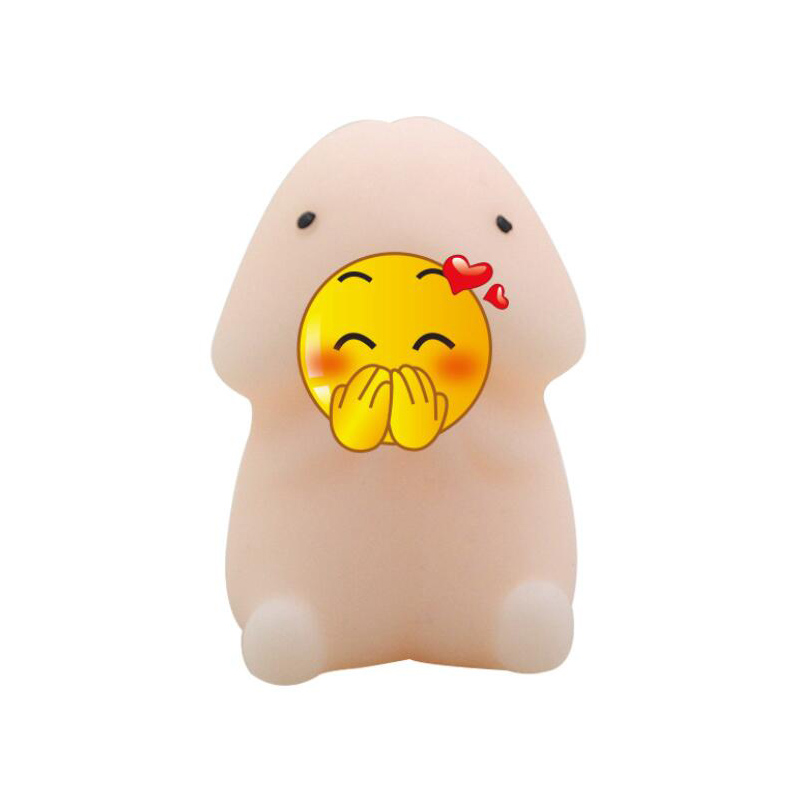 Mochi Squishy Ding Ding Penis Stress Toy Anxiety Relief Anti Stress Toys Gadget Gag Joke Prank Squeeze Toy