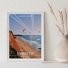 Vallee de la Dordogne, impresión artística de viaje, mapa minimalista, póster de lienzo, sin marco