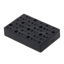 45 отверстий электрическое сверло коробка для хранения блок Держатель головки сверла Органайзер чехол N22 19 Прямая поставка
