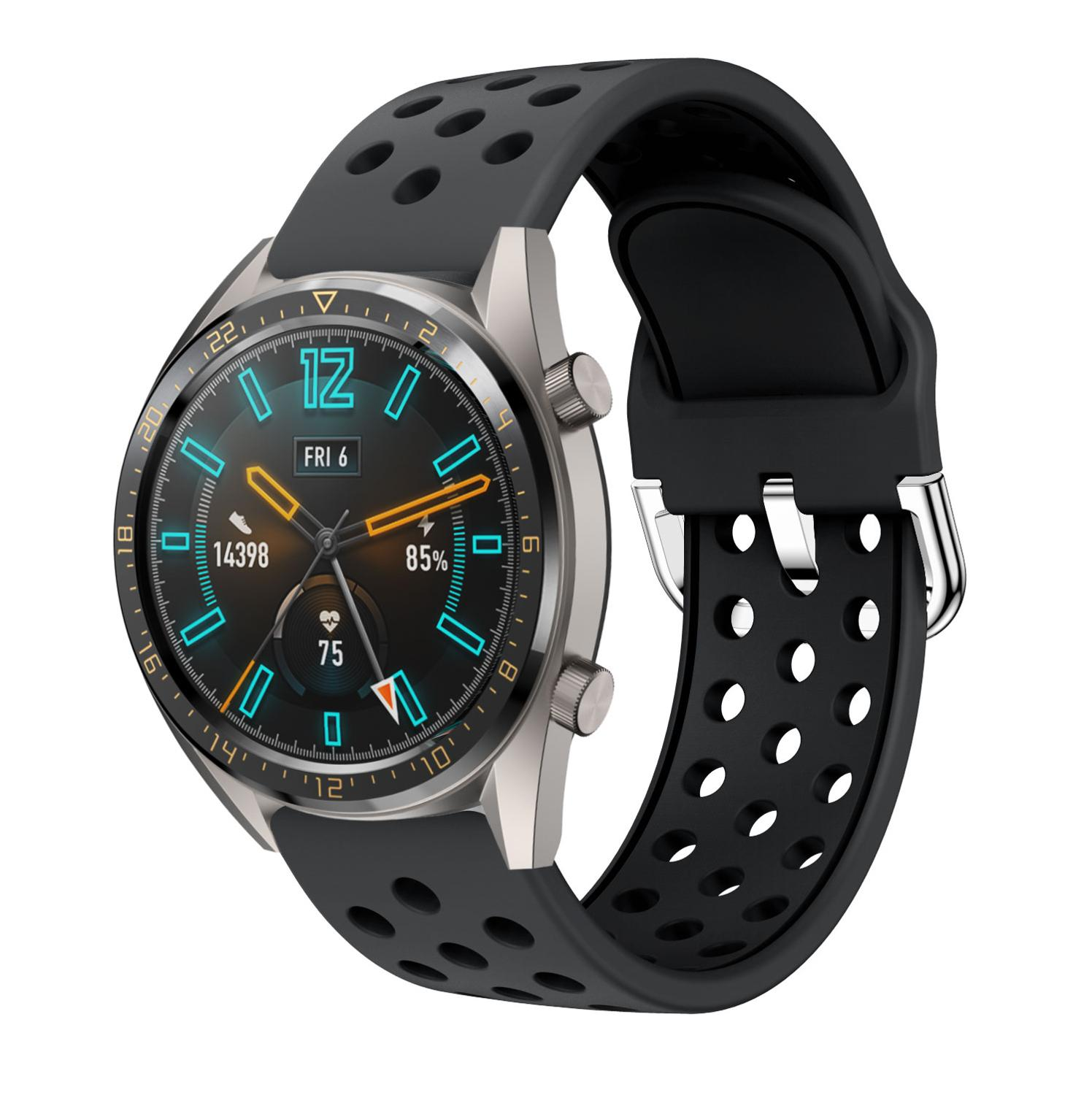 22MM Silicone Smart WatchBand Strap For Huawei Watch GT GT2 Sport Replacement  Accessories Wriststrap For Samsung Galaxy 46MM