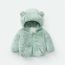 Zima wiosna dla dzieci chłopcy płaszcz ocieplany dla dzieci dla dziewczyn z kapturem płaszcz 2020 nowych moda dziecięca odzież wierzchnia niemowląt odzież wierzchnia 1-5Y tanie tanio BibiCola Aktywny COTTON Zwierząt REGULAR Pełna Pasuje prawda na wymiar weź swój normalny rozmiar Heavyweight Czesankowej